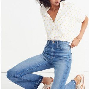 [Madewell] Rigid Flare Jeans: Drop-Hem Edition